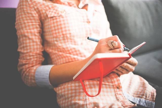 Female Diary Journal - Free photo on Pixabay (528513)