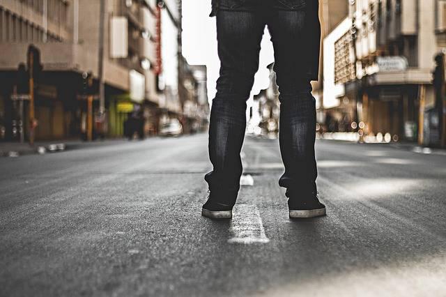 Legs Street Alone - Free photo on Pixabay (529210)