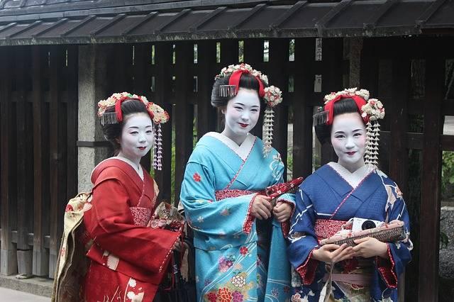 Geisha Girls Kimono - Free photo on Pixabay (530726)