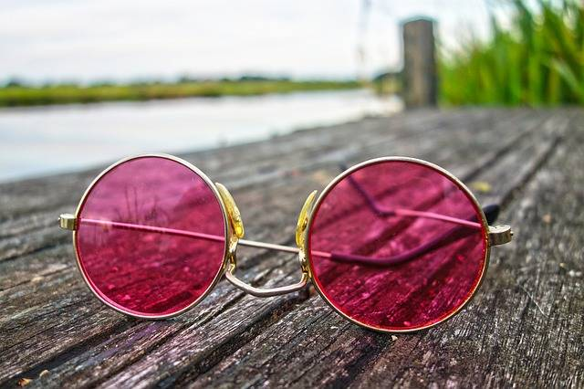 Glasses Pink Lens - Free photo on Pixabay (530775)