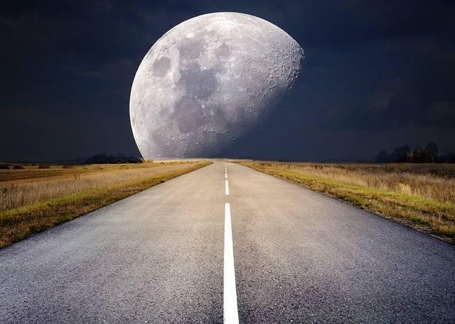 Moon Full Moonlight Super - Free photo on Pixabay (531355)