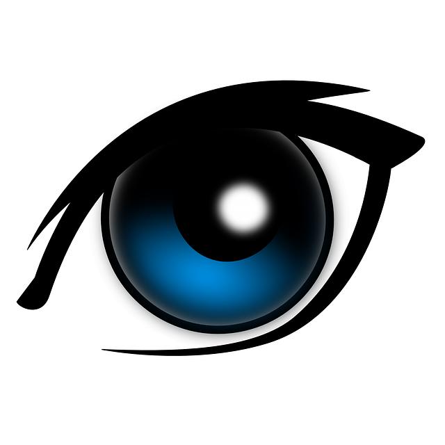Eyes Blue Big - Free vector graphic on Pixabay (532019)