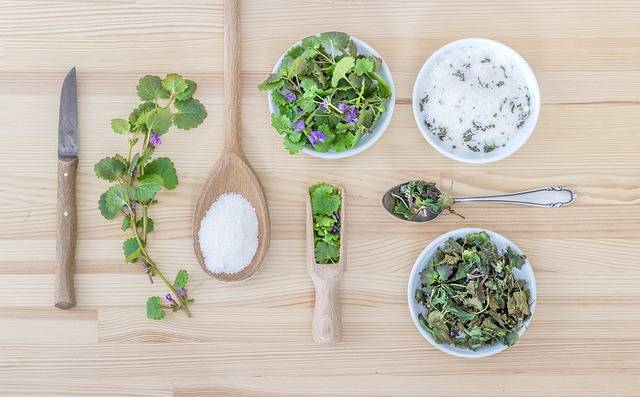 Herbs Salt Spoon - Free photo on Pixabay (532472)