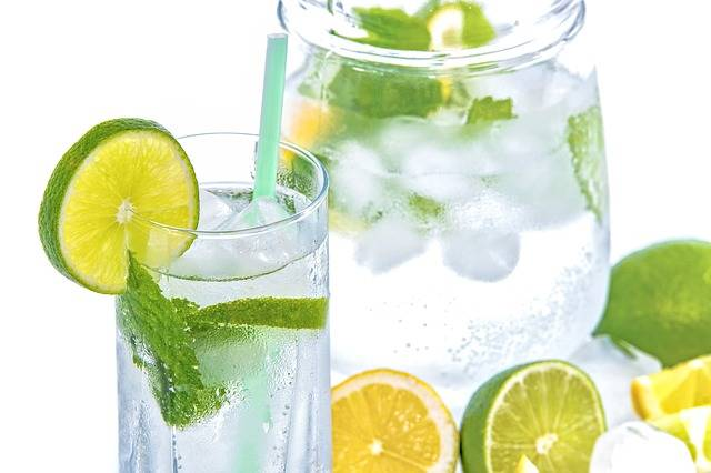Mineral Water Lime Mint - Free photo on Pixabay (532474)