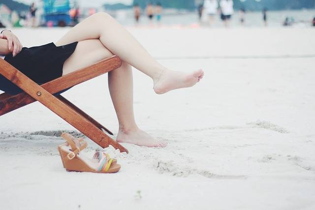 Beach Chair Feet - Free photo on Pixabay (533654)