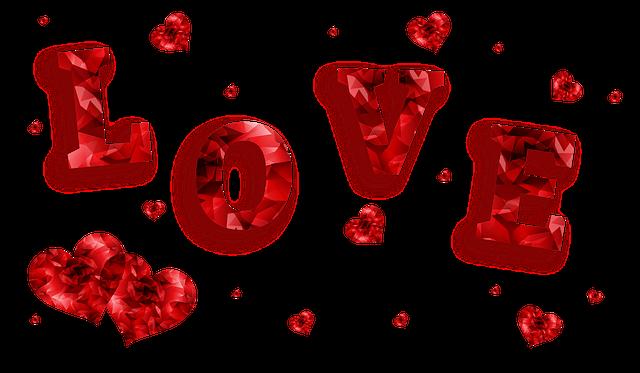 Love Hearts Banner - Free image on Pixabay (535119)