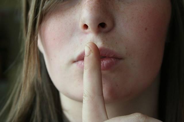 Secret Lips Woman - Free photo on Pixabay (535300)