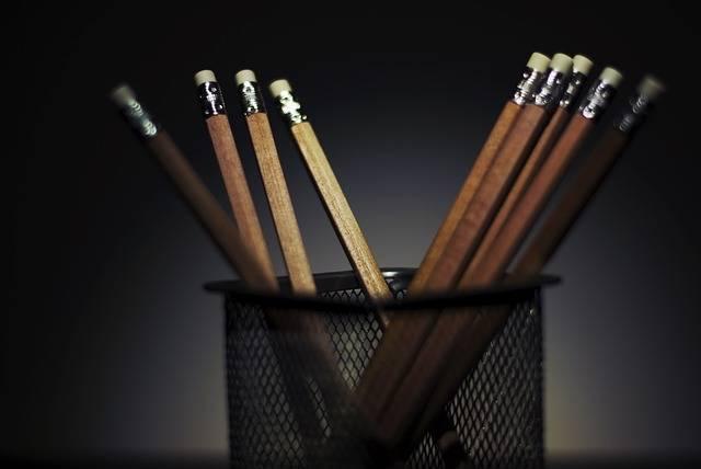 Pencils Pens Office - Free photo on Pixabay (535965)