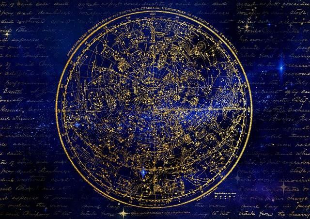 Northern Hemisphere Constellations - Free image on Pixabay (536252)