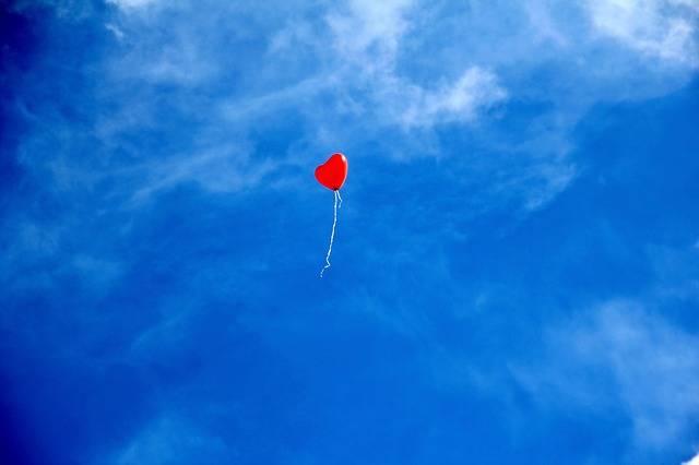 Balloon Heart Love - Free photo on Pixabay (536660)