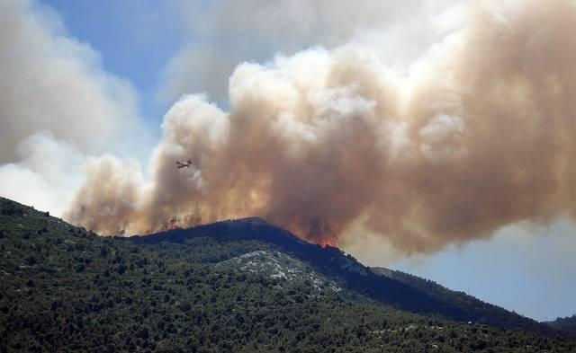 Wildfire Fire Smoke - Free photo on Pixabay (536902)