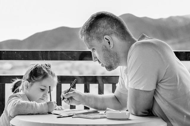 Girl Father Portrait - Free photo on Pixabay (536982)