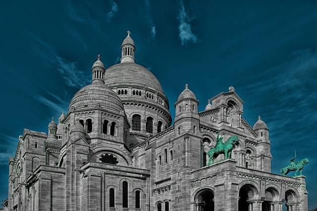 Sacré Coeur Paris Church - Free photo on Pixabay (537416)