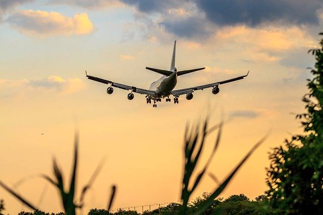 Airplane Wing Sky - Free photo on Pixabay (537776)