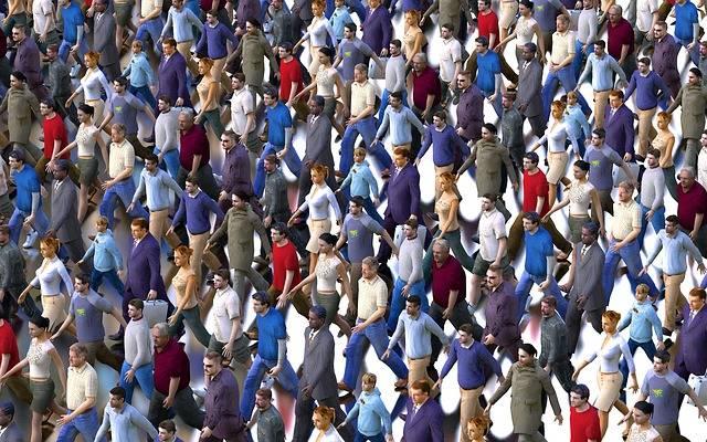 Crowd Men Women - Free image on Pixabay (537951)