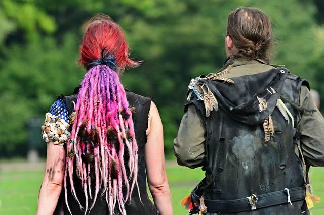 Woman Pink Hair Costume Dressed - Free photo on Pixabay (538736)