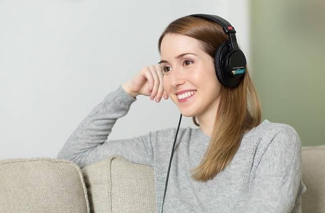 Woman Girl Headphones - Free photo on Pixabay (538881)