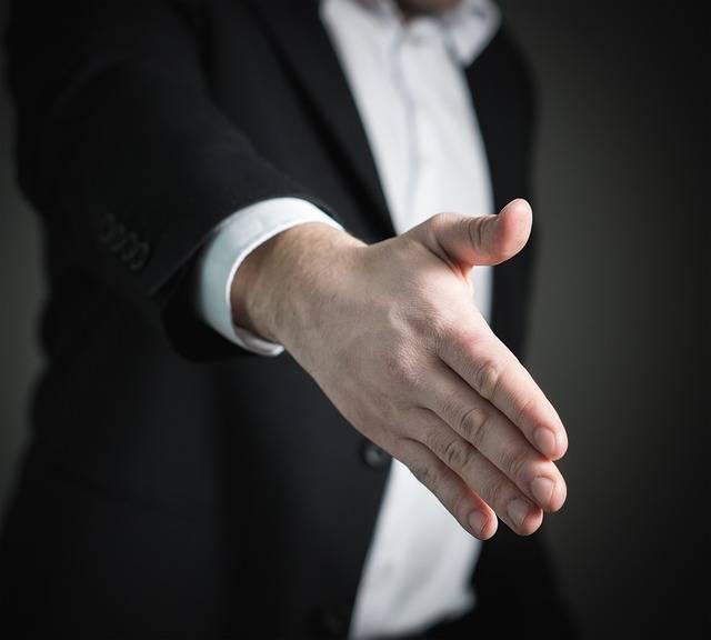 Handshake Hand Give - Free photo on Pixabay (538911)