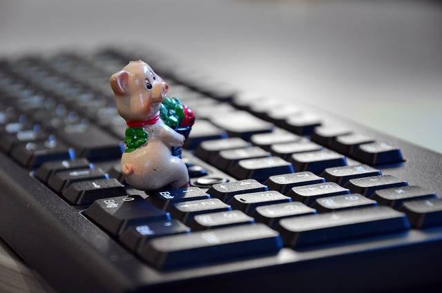 Lucky Pig Charm - Free photo on Pixabay (539037)