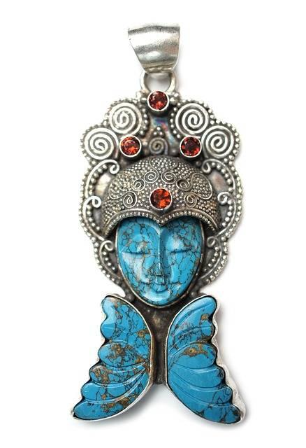 Turquoise Stone Pendant - Free photo on Pixabay (539041)