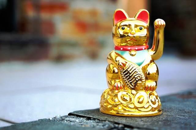 Maneki Neko Waving Cat Manekineko - Free photo on Pixabay (539042)