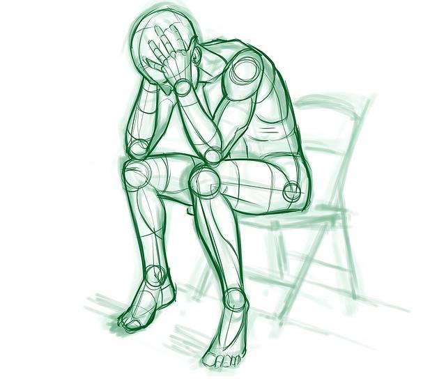 Lonely Man Crying - Free image on Pixabay (539449)