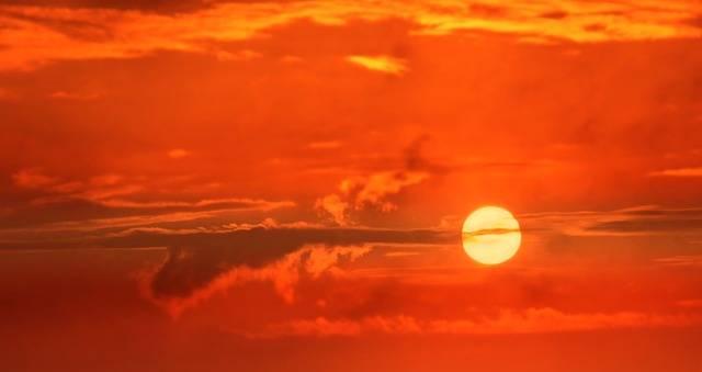 Sunrise Sun Clouds - Free photo on Pixabay (541530)