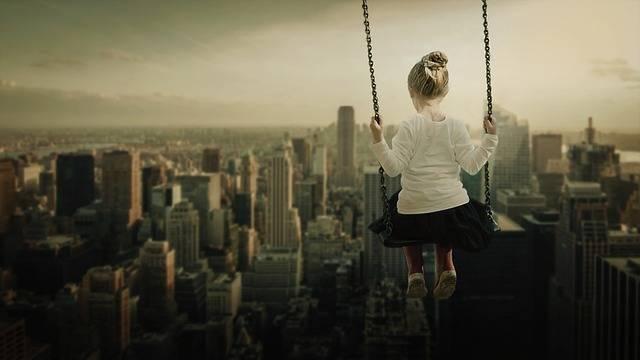 Girl Swing Rock - Free photo on Pixabay (541563)