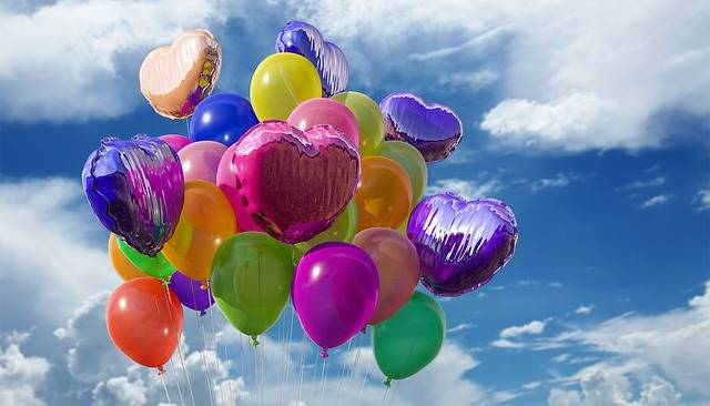 Balloons Party Colors - Free photo on Pixabay (541565)