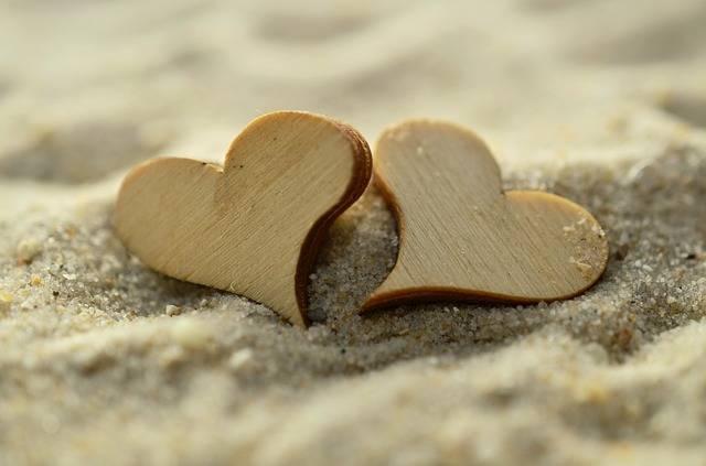 Sand Heart Wood - Free photo on Pixabay (541679)
