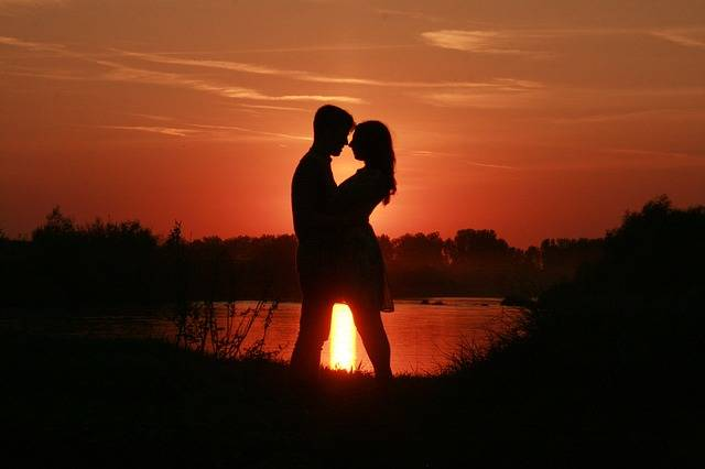 Couple Love Sunset - Free photo on Pixabay (541837)