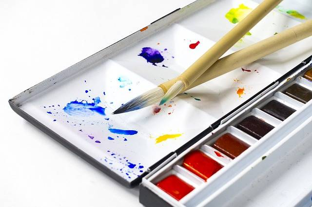 Watercolors Paint Painting Tools - Free photo on Pixabay (543214)