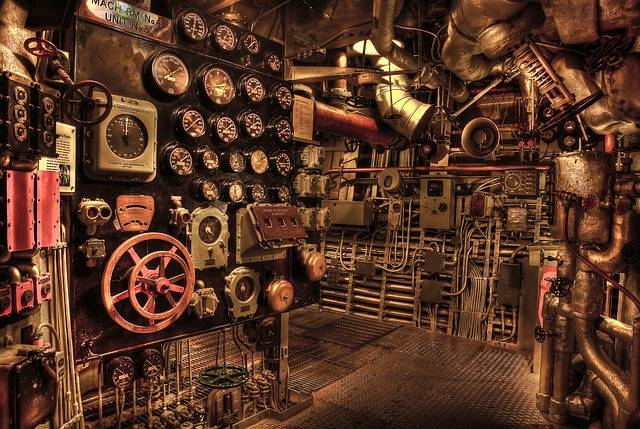 Battleship Engine Room Historic - Free photo on Pixabay (543498)