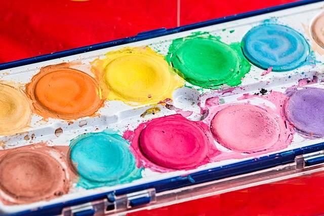Palette Brush Paint Box - Free photo on Pixabay (544544)