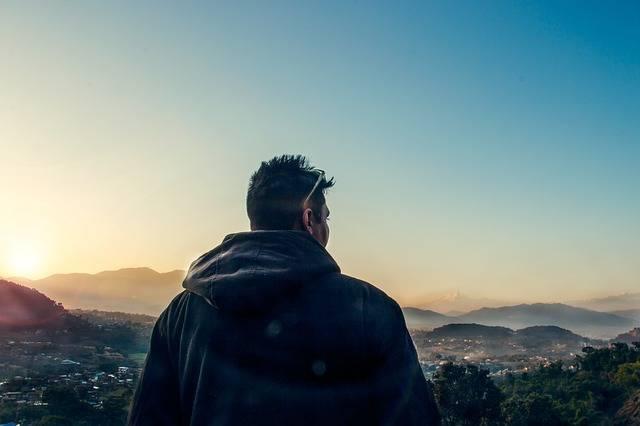 Sunset Man Thinking - Free photo on Pixabay (544911)