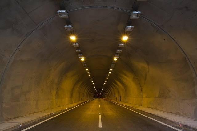 Tunnel Asphalt Light - Free photo on Pixabay (545056)