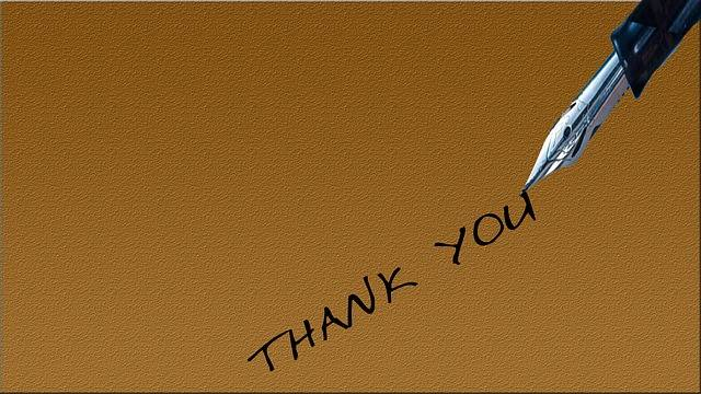 Thank You Pen Pencil - Free image on Pixabay (546199)