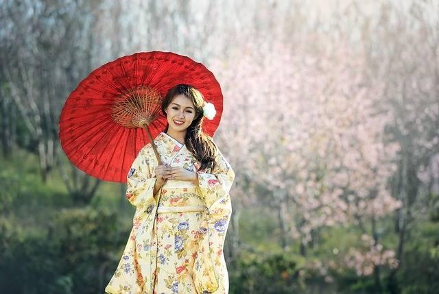 Beauty Geisha Asia - Free photo on Pixabay (546412)