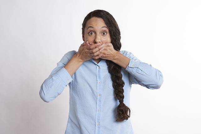 Secret Hands Over Mouth Covered - Free photo on Pixabay (546616)