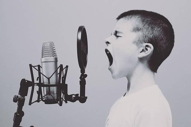 Microphone Boy Studio - Free photo on Pixabay (546625)