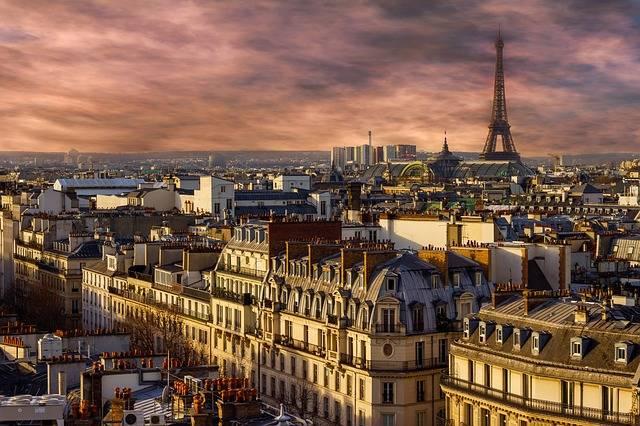 Paris Eiffel Tower Night - Free photo on Pixabay (546668)