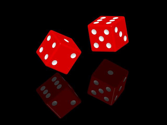 Dice Gambling Chance - Free image on Pixabay (546899)