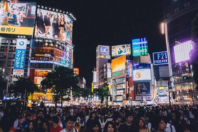 Shibuya Crossing Tokyo Japan - Free photo on Pixabay (547117)