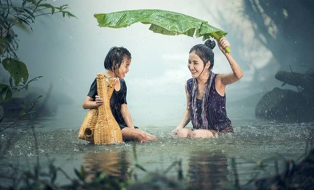Woman Young Rain - Free photo on Pixabay (547138)