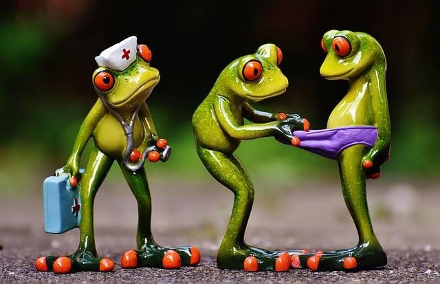 Frogs Emergency Figures - Free photo on Pixabay (547220)