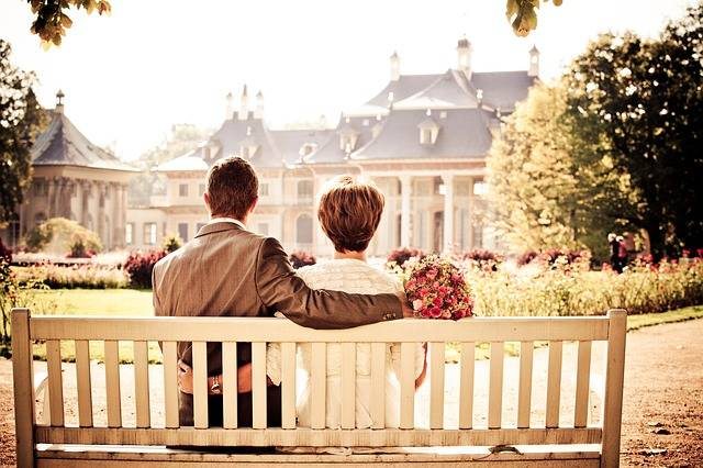 Couple Bride Love - Free photo on Pixabay (547934)
