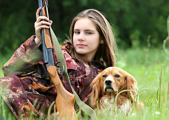 Hunter Girl Dog - Free photo on Pixabay (547981)