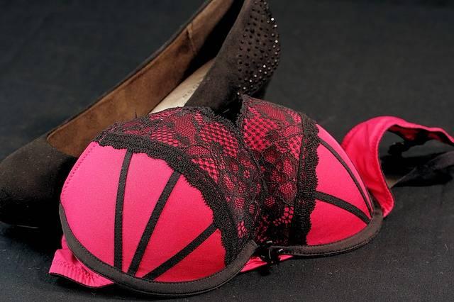 Bra Red High Heels - Free photo on Pixabay (548102)
