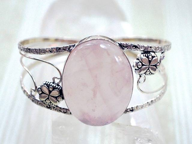 Jewelry Rose Quartz Pink - Free photo on Pixabay (548443)