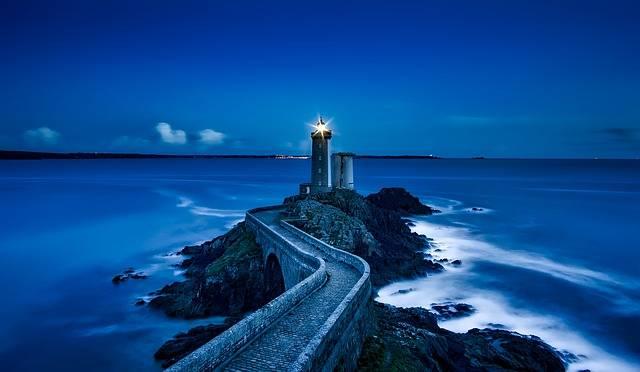 Plouzane Lighthouse France - Free photo on Pixabay (548488)